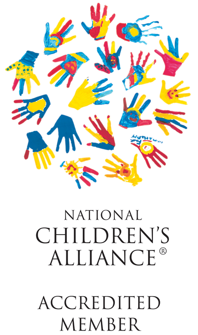 National Children's Alliance Accredited Member logo